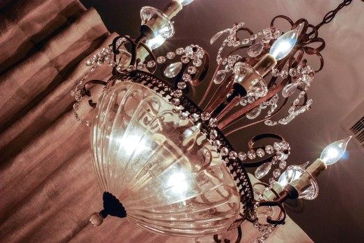 L's chandelier d/s b/r