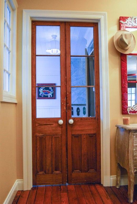 B's b/r doors