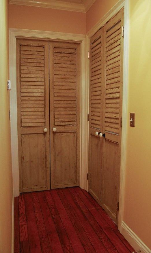 B's shutter doors