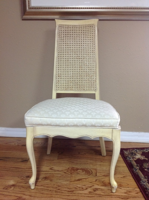 E's chair before
