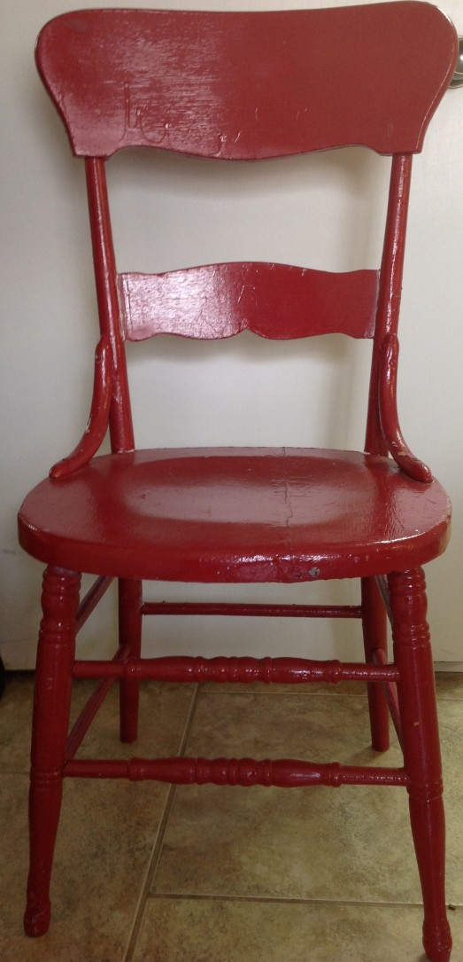 W/Ts red chair